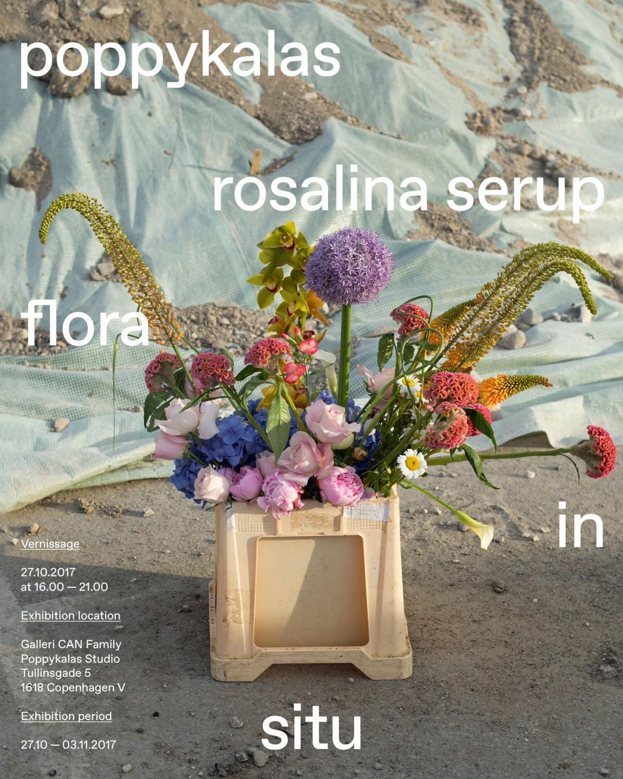 Rosalina Serup Flora in Situ